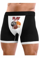 Play With My Balls - Mens Boxer Brief