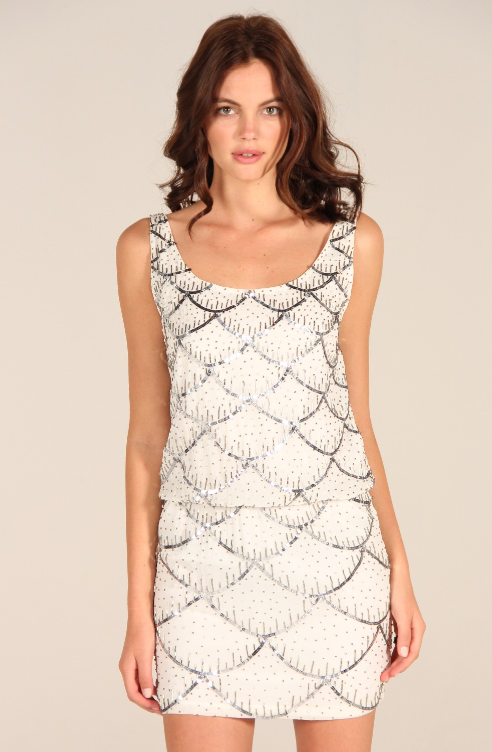 Sequin Dress by &ltI&gtNicole Miller&lt/I&gt