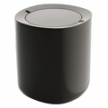 Alessi Birillo Dark Grey Bathroom Waste Bin