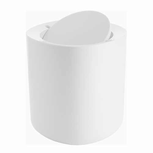 Alessi Birillo White Bathroom Waste Bin