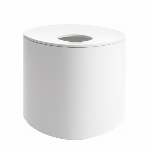 Alessi Birillo White Tall Tissue Dispenser