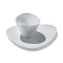 Alessi Colombina Espresso Cup and Saucer Set