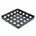 "Alessi ""CrissCross"" Black Decorative Storage Basket"