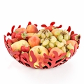 Alessi Mediterraneo (RED) Large Fruit Bowl