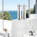 Blomus Duo Polished Toothbrush Glass