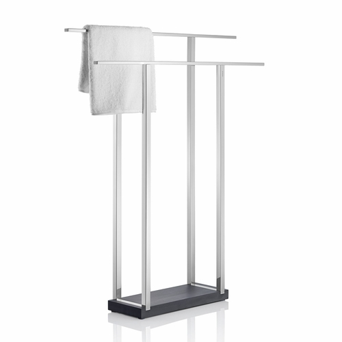 Blomus Menoto Polished Double Towel Stand