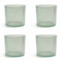 Cose Nuove Recycled Glass Fog Candle Votive Set of 4