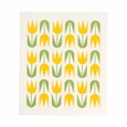 Cose Nuove Yellow Tulip Swedish Dishcloth (Set of 3)