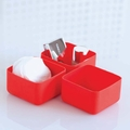 Design Ideas Squish Red Desk Organizer Set
