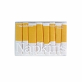 Harvey & Strait Yellow Stripe Cocktail Napkins (Set of 8)
