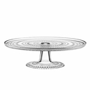 iittala Dewdrop Clear Cake Stand - 12-1/4""