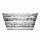 iittala Dewdrop Clear Small Serving Bowl