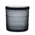 iittala Dewdrop Large Grey Jar