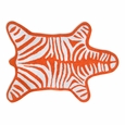 Jonathan Adler Zebra Orange Bath Mat