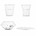Kikkerland Folding Wire Basket