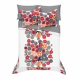 Marimekko Annansilm� White/Red/Grey Percale Bedding