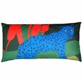 Marimekko Blue Cheetah Pillow