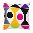 Marimekko Cocktail Ecru/Multi Throw Pillow