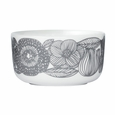 Marimekko Geranium White/Grey Soup/Cereal Bowl