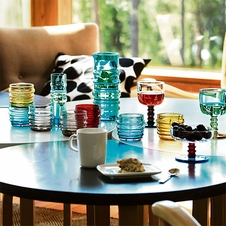 Marimekko Socks Rolled Down Glassware