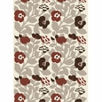 Marimekko Green Green Ecru / Brown PVC-Coated Cotton Fabric