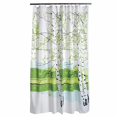 Marimekko Kaiku Long Polyester Shower Curtain