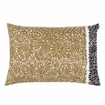 Marimekko Katjuusa Black/Gold Lounge Pillow
