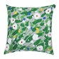 Marimekko Kes�hein� Grey/Green Throw Pillow