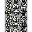 Marimekko Kimalainen Grey/Beige/White Fabric Repeat