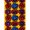 Marimekko Kimalainen Yellow/Blue/Red Fabric Repeat
