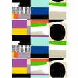 Marimekko Komuutti Multicolor Cotton Fabric