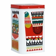 Marimekko Kukkuluuruu Large White/Green/Red Tin