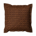 Marimekko Kuukuna Brown Throw Pillow