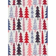 Marimekko Kuusikossa Grey/Red/Blue Cotton Fabric