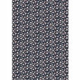 Marimekko Mini-Unikko Dark Grey / Coral Cotton Fabric