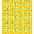 Marimekko Mini-Unikko Fabric Lime Yellow