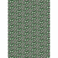 Marimekko Mini-Unikko White / Green / Pink Cotton Fabric