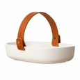 Marimekko Oiva �Koppa� Serving Dish w/ Leather Handle