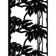 Marimekko P�iv�ntasaaja White / Black Cotton Fabric