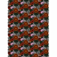 Marimekko Pieni Siirtolapuutarha Orange Acrylic-Coated Cotton Fabric