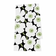 Marimekko Pieni Unikko Black/Green Table Runner