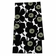 Marimekko Pieni Unikko Black/White Table Runner