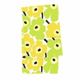 Marimekko Pieni Unikko Lime/White Table Runner