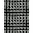 Marimekko Puketti Black / White PVC-Coated Cotton Fabric