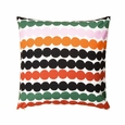 Marimekko Räsymatto Orange Throw Pillow