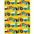 Marimekko Raitti Yellow/Multicolor Fabric