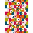 Marimekko Ruutu-Unikko Multicolor Cotton Fabric