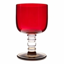 Marimekko �Socks Rolled Down� Red / Clear / Smoke Goblet