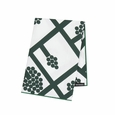 Marimekko Spalj� White/Green Cotton Napkin