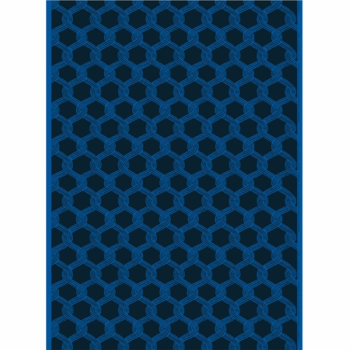 Marimekko Sulhasmies Blue Cotton Fabric